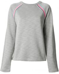 T By Alexander Wang Track Top with Pink Trim - Lyst