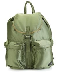 Porter - Pocket Detail Backpack - Lyst