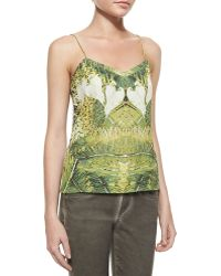 Ted Baker Sleeveless Relaxed Tropicalprint Camisole Cynaria Multi Small - Lyst