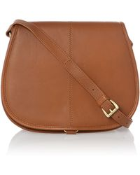 Linea Weekend Billy Saddle Bag - Lyst