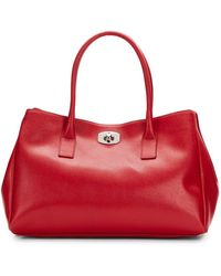 Furla New Appaloosa Saffiano Leather Tote - Lyst