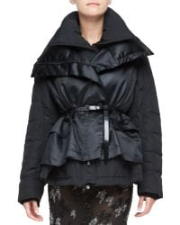 Donna Karan New York Double Layer Puffer Jacket - Lyst