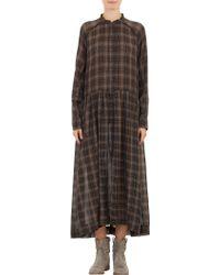 Etoile Isabel Marant Plaid Ivah Maxi Dress - Lyst