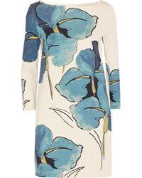 Tory Burch Bonnie Floral-Print Pima Cotton-Jersey Dress - Lyst