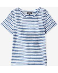 A.P.C. | T-shirt Chic | Lyst