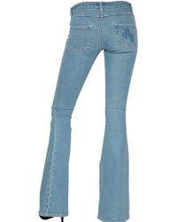 American Retro - Flare Stretch Denim Jeans - Lyst