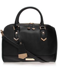 Carvela Chelsea Bowling Black Shoulder Bag - Lyst