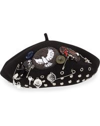 Marc By Marc Jacobs - Number 3 Beret Hat - Lyst