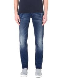 G-star Raw Slimfit Tapered Jeans Med Aged - Lyst