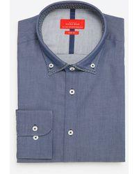 Zara   Mock Layer Shirt   Lyst