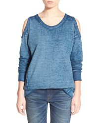 Stem - Cold Shoulder Sweatshirt - Lyst