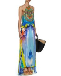 Camilla The Rites Of Tropicana Silk Maxi Dress multicolor - Lyst