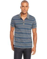 Hugo Boss Firenze  Regular Fit Mercerized Cotton Striped Polo Shirt - Lyst