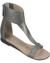 Franco Sarto Gray Gelato Sandals - Lyst
