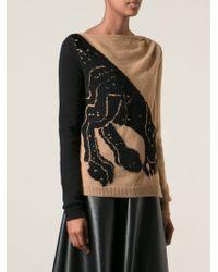 Vionnet Panther Motif Sweater - Lyst
