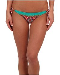 Vix Sofia By Lakai Long Tie Embroidery Full Bottom - Lyst