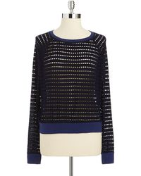 Hard Tail - Perforated Crop Top - Lyst