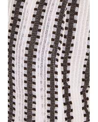 lemlem - Elsabet Striped Cotton Blend-gauze Shorts - Lyst