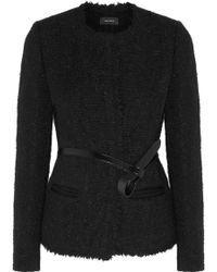 Isabel Marant Satchell Brushed Wool-Blend Jacket - Lyst