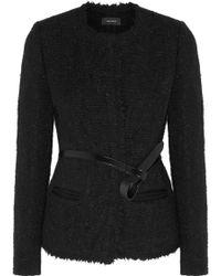 Isabel Marant Satchell Brushed Wool-Blend Jacket - Lyst