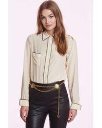 Chanel | Vintage Colette Silk Blouse | Lyst