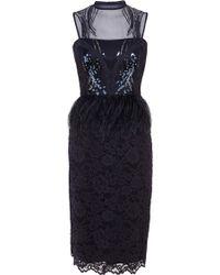 Coast Lina Feather Dress - Lyst