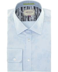 Ted Baker Biberia Regular Fit Archive Floral Jaquard Shirt - Lyst