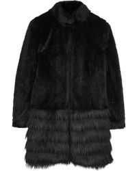 Unreal Fur Black Acappella Fur Coat - Lyst