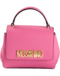 Moschino Logo Plaque Backpack - Lyst