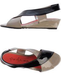 Pas De Rouge Sandals - Lyst
