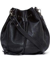 Nasty Gal Status Anxiety Leon Leather Bucket Bag - Lyst