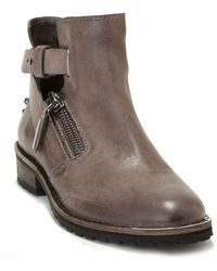Dolce Vita Kinley Leather Ankle Boots - Lyst