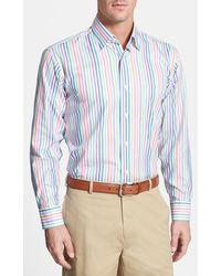 Robert Talbott 'Anderson' Classic Fit Stripe Sport Shirt - Lyst