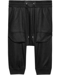 Helmut Lang Flat Loop Terry Short black - Lyst