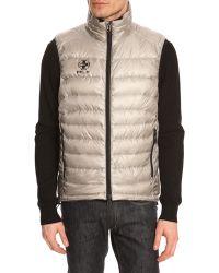 Polo Ralph Lauren Sleeveless Puffer Jacket Light Rlx Silver - Lyst