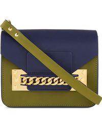 Sophie Hulme Mini Chain Envelope Bag - For Women - Lyst
