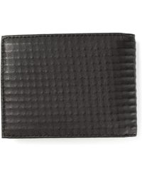 Diesel Textured Billfold Wallet - Lyst