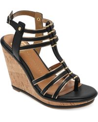 Dolce Vita Platform Wedge Sandals - Lyst