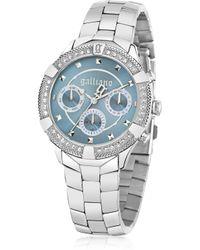 John Galliano Stainlees Steel Crystals Women'S Watch - Lyst