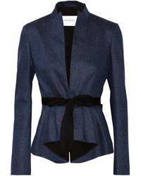 Vionnet Wool and Silk-blend Jacket - Lyst