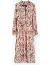 Mango | Floral Print Dress | Lyst