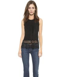 House Of Harlow Korin Top - Black - Lyst