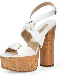 Michael Kors Cecily Runway Sandal - Lyst