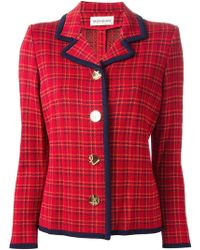Yves Saint Laurent Vintage Knit Jacket - Lyst
