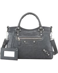 Balenciaga Giant 12 Nickel Town Bag - Lyst