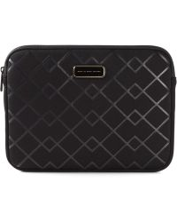 Marc By Marc Jacobs Chevron Pattern Computer Case - Lyst