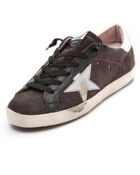 Golden Goose Deluxe Brand Superstar Low Tops Purple Pink - Lyst