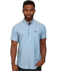 RVCA That'Ll Do Oxford S/S - Lyst