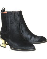 Jeffrey Campbell Black Dempsey Boot - Lyst