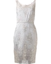 Notte By Marchesa Lace Cocktail Dress - Lyst